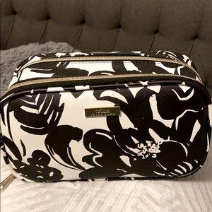 Double zip makeup case